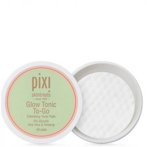 Pixi Glow Tonic To-Go Make-Up Remover Pads Pack Of 60