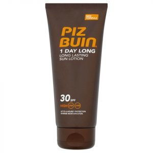 Piz Buin 1 Day Long Lasting Sun Lotion High Spf30 100 Ml