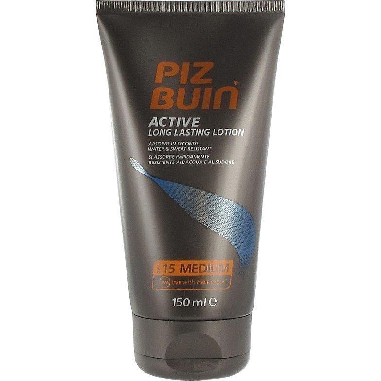 Piz Buin Active Long Lasting Lotion SPF 15 Medium 150ml