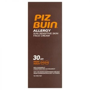 Piz Buin Allergy Sun Sensitive Skin Face Cream High Spf30 50 Ml