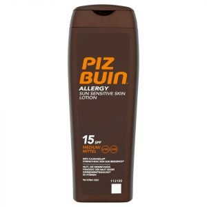 Piz Buin Allergy Sun Sensitive Skin Lotion Medium Spf15 200 Ml