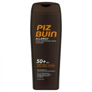 Piz Buin Allergy Sun Sensitive Skin Lotion Very High Spf50+ 200 Ml