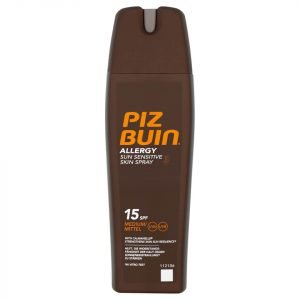 Piz Buin Allergy Sun Sensitive Skin Spray Medium Spf15 200 Ml