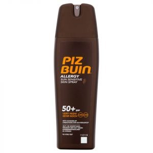 Piz Buin Allergy Sun Sensitive Skin Spray Very High Spf50+ 200 Ml