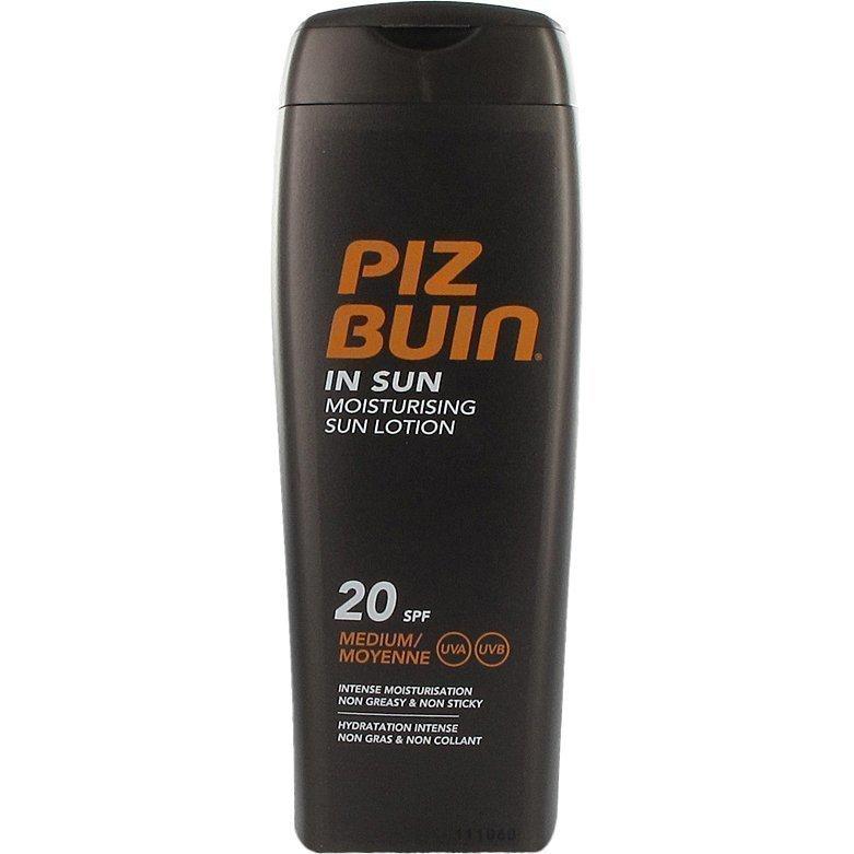 Piz Buin In Sun Lotion SPF 20 200ml