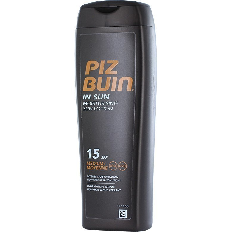 Piz Buin In Sun Moisturising Lotion SPF 15 200ml