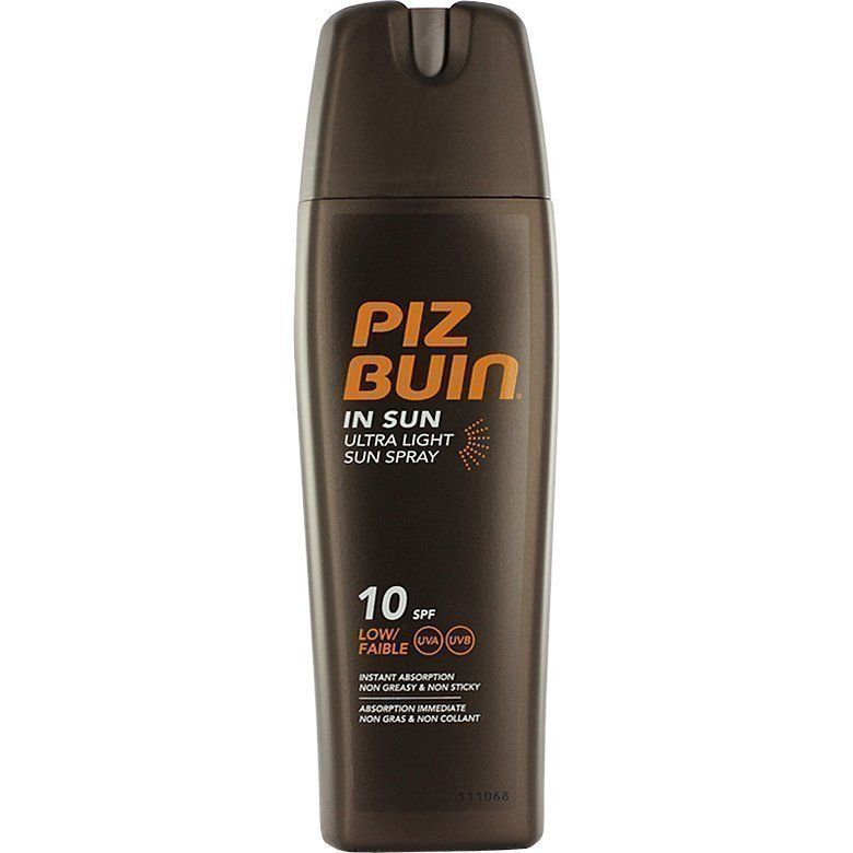 Piz Buin In Sun Ultra Light Sun Spray SPF10 (Low) 200ml