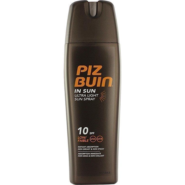 Piz Buin In Sun Ultra Light Sun Spray SPF10 (Low) 200ml