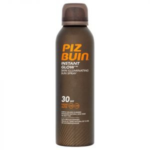 Piz Buin Instant Glow Skin Illuminating Sun Spray Spf30 150 Ml