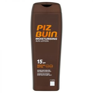 Piz Buin Moisturising Sun Lotion Medium Spf15 200 Ml