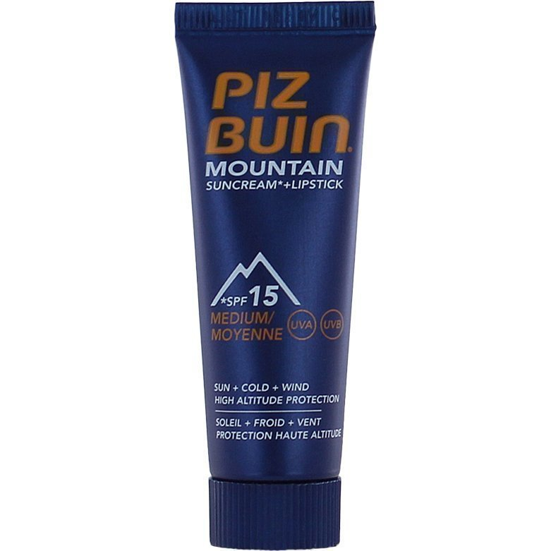 Piz Buin Mountain Combi Face Cream & Sun Stick SPF15 20ml