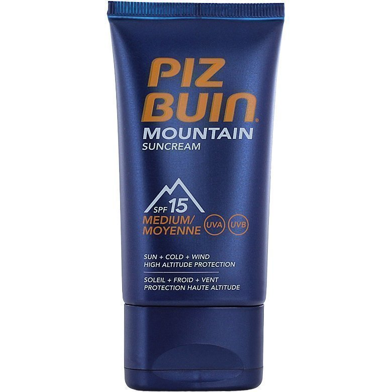 Piz Buin Mountain Suncream SPF15 40ml