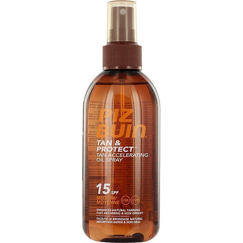 Piz Buin Tan & Protect Tan Accelerating Oil Spray SPF15 150ml