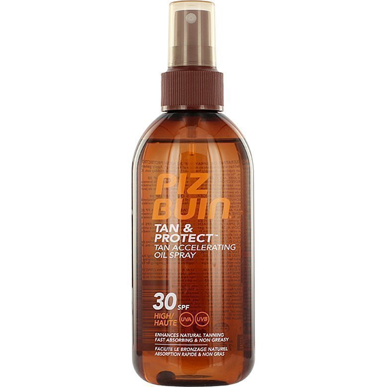 Piz Buin Tan & Protect Tan Accelerating Oil Spray SPF30 150ml