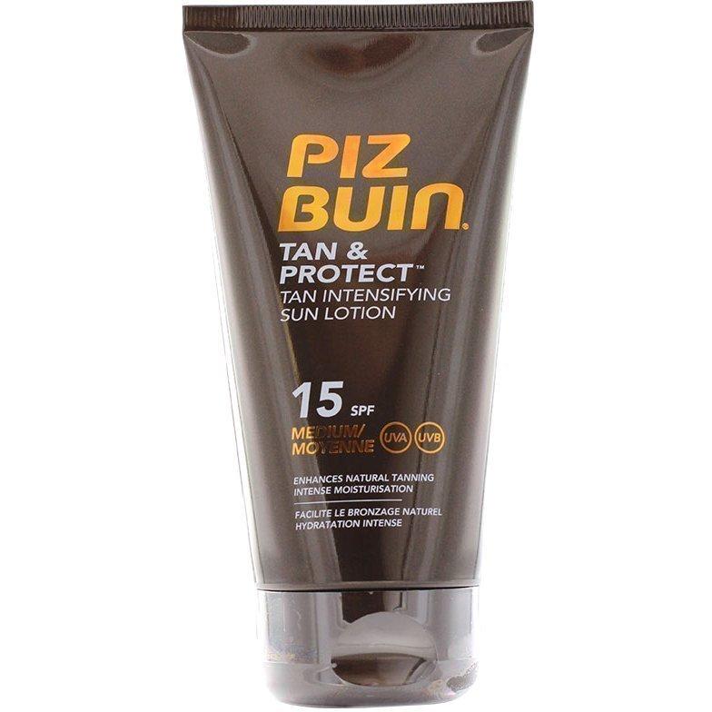 Piz Buin Tan & Protect Tan Intensifier Sun Lotion SPF15 150ml