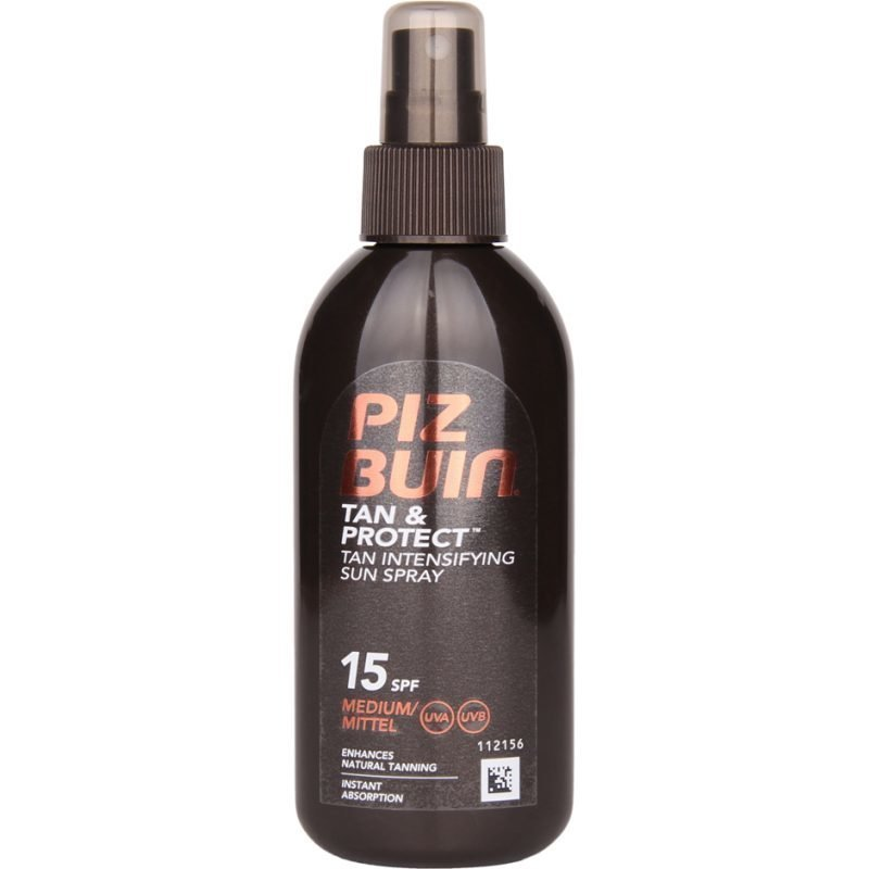 Piz Buin Tan & Protect Tan Intensifier Sun Spray SPF 15 Medium 150ml