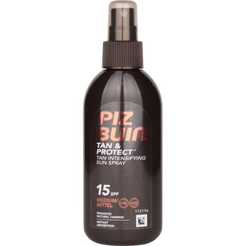 Piz Buin Tan & Protect Tan Intensifier Sun Spray SPF 15 Medium 150ml