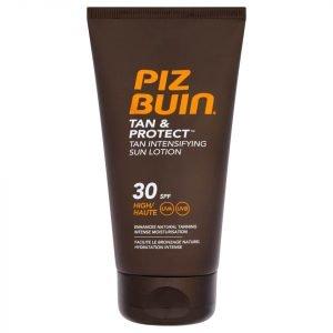 Piz Buin Tan & Protect Tan Intensifying Sun Lotion High Spf30 150 Ml