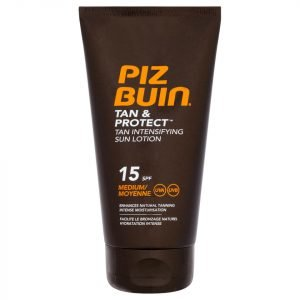 Piz Buin Tan & Protect Tan Intensifying Sun Lotion Medium Spf15 150 Ml