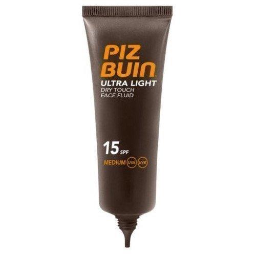 Piz Buin Ultra Light Dry Touch Face Fluid SPF 15