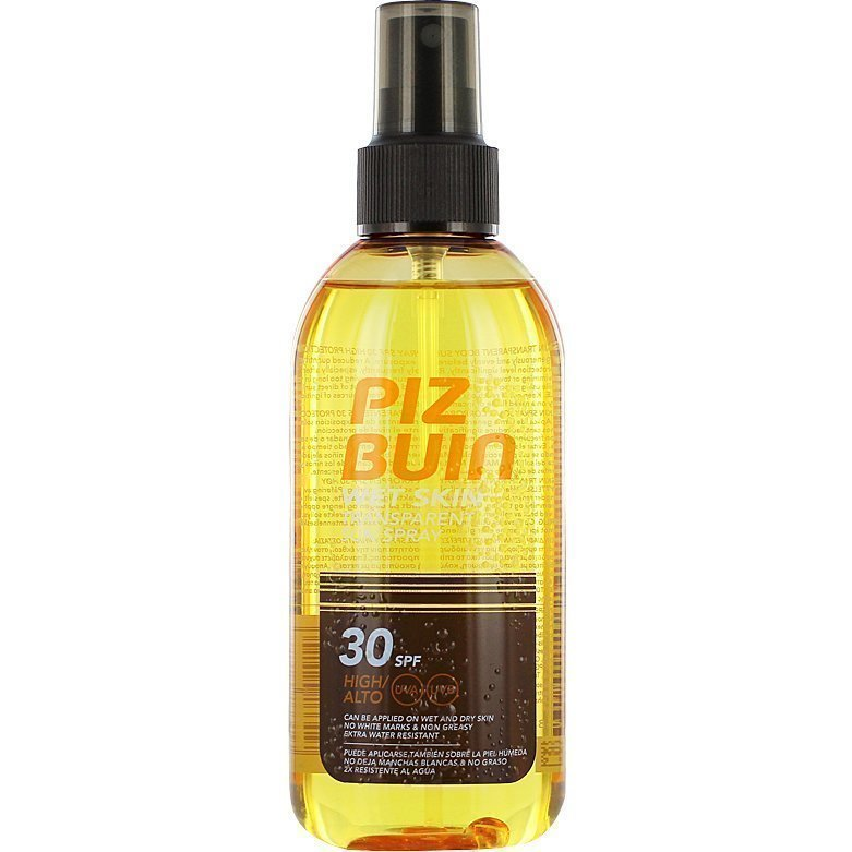 Piz Buin Wet Skin Transparent Sun Spray SPF30 150ml