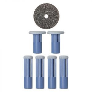 Pmd Mixed Blue Replacement Discs 6 Pack