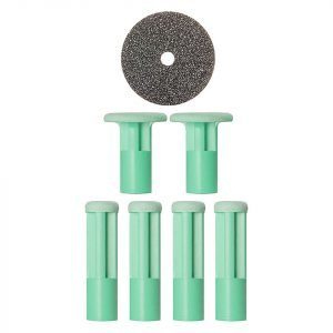 Pmd Mixed Green Replacement Discs 6 Pack