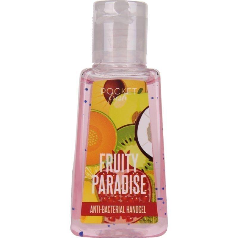 Pocketfresh Fruity ParadiseBacterial Handgel 29ml