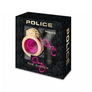 Police The Sinner W Lahjapakkaus: Edt 30 Ml & Body Lotion 100 Ml