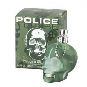 Police To Be Camouflage Edt Tuoksu 40 Ml