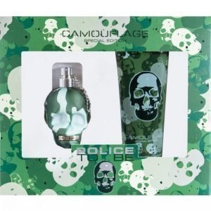 Police To Be Camouflage Lahjapakkaus Edt 40 Ml + Body Shampoo 100 Ml