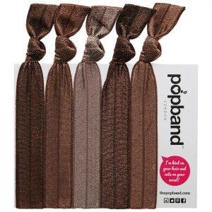 Popband London Hair Ties Cocoa