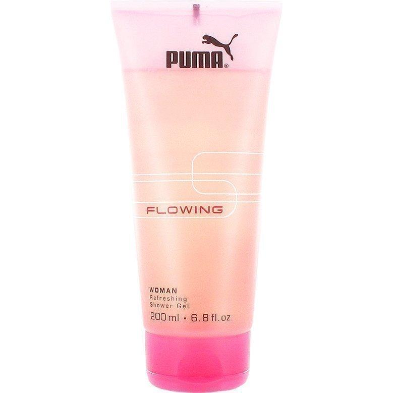 Puma Flowing Shower Gel Shower Gel 200ml