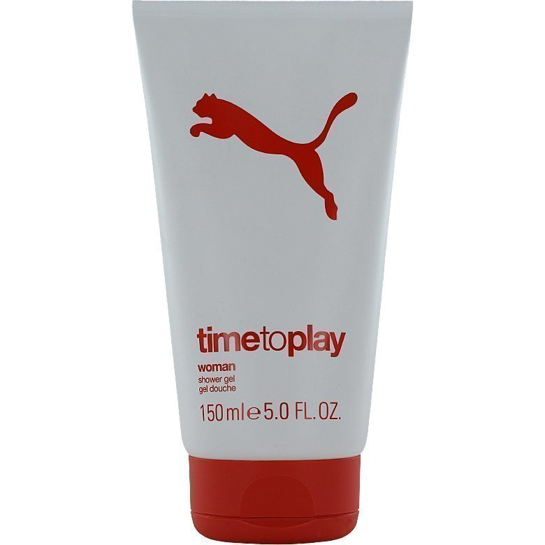 Puma Time To Play Woman Shower Gel Shower Gel 150ml