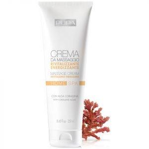 Pupa Home Spa Massage Cream Revitalizing 250 Ml
