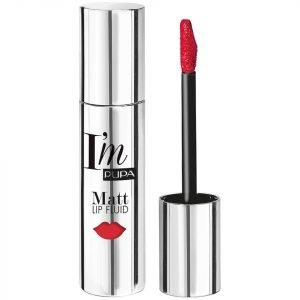 Pupa I'm Matt Lip Fluid Liquid Lip Colour Various Shades Fire Red