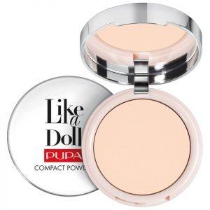 Pupa Like A Doll Nude Skin Compact Powder Various Shades Porcelain