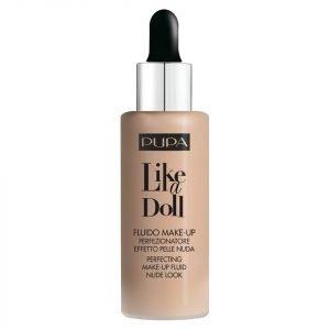 Pupa Like A Doll Perfecting Make-Up Nude Look Compact Powder Various Shades Natural Beige