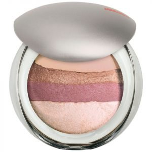 Pupa Luminys Baked All Over Illuminating Blush Powder Rose Stripes
