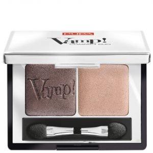 Pupa Vamp! Compact Eyeshadow Duo Bronze Amber