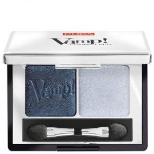 Pupa Vamp! Compact Eyeshadow Duo Magnetic Blue