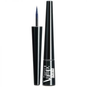 Pupa Vamp! Definition Liner Eye Liner With Felt-Tip Applicator Various Shades Deep Blue