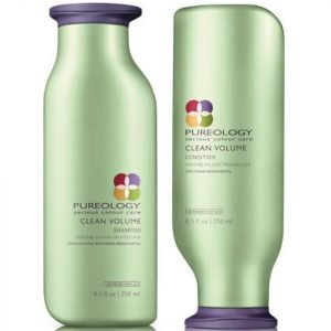Pureology Clean Volume Colour Care Shampoo And Conditioner Duo 250 Ml