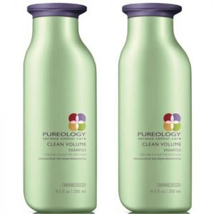 Pureology Clean Volume Colour Care Shampoo Duo 250 Ml