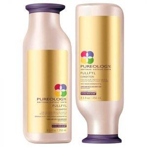 Pureology Fullfyl Shampoo And Conditioner Duo 250 Ml X 2