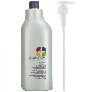 Pureology Purify Shampoo 1000 Ml With Pump