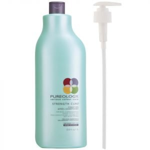 Pureology Strength Cure Conditioner 1000 Ml With Pump