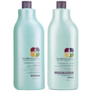 Pureology Strength Cure Shampoo And Conditioner 1000 Ml