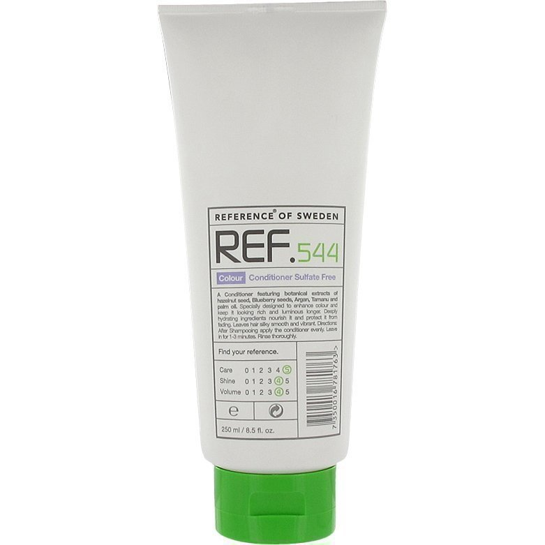 REF Colour 544 Conditioner Sulfate Free 250ml