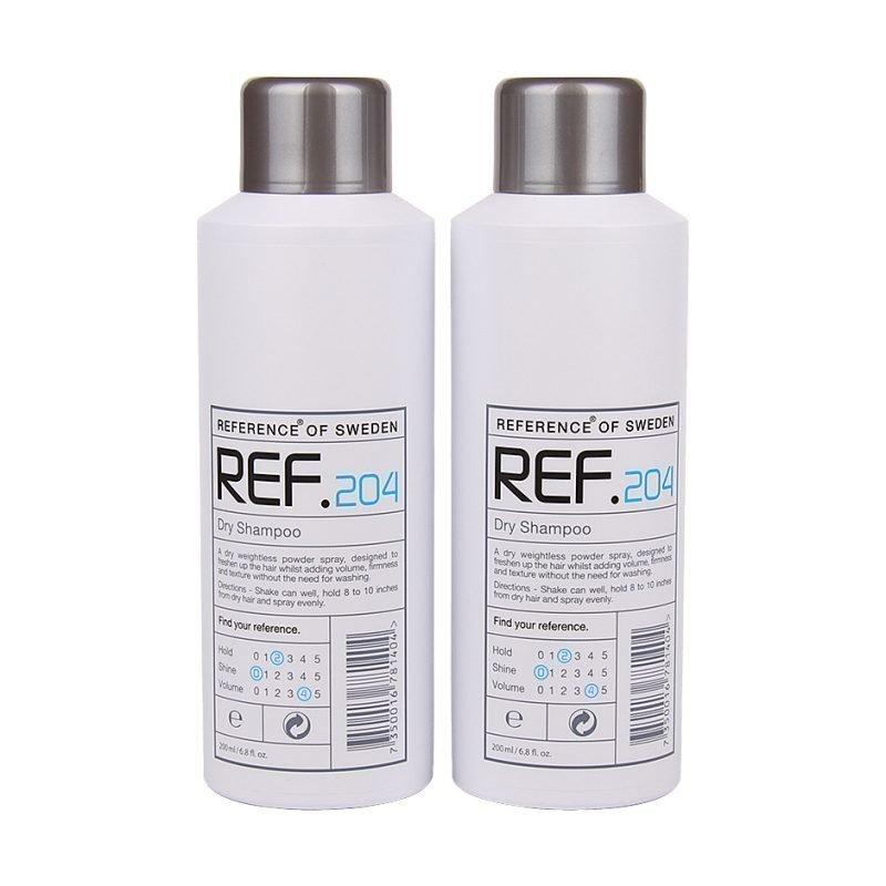 REF Dry Shampoo 204 Duo 2 x 200ml